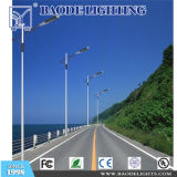 6m Street Lighting Palo con Arm Galvanized Steel Palo