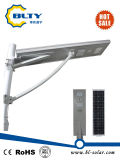luz de calle integrada de 50W LED con el panel solar