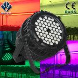 El PAR de la etapa 54X3w impermeable puede encender LED PAR