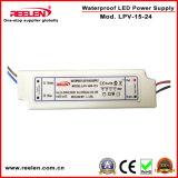 24V 0.63A 15WはIP67一定した電圧LED電源を防水する