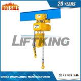 elektrische Kettenhebevorrichtung der längeren Lebensdauer-1t
