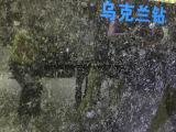 ウクライナボルガの青い花こう岩および花こう岩の床の壁のタイル