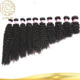 ベストセラーの巻き毛の波のブラジルのバージンの人間の毛髪