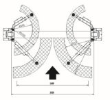 Подъем Hydrulic поднимаясь оборудования подъема автомобиля 2 колонок (AAE-TPC240)