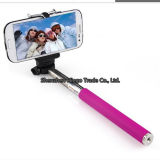 100% Vorlage Extendable Bluetooth Selfie Stick für iPhone Samsung