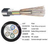 96 câble blindé de fibre de tube desserré échoué de noyau par GYTS