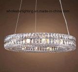 Lámpara Colgante de Cristal de acero inoxidable (WHG-8184)