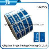 2018 nouvelles lingettes 103G 123G à l'emballage du papier aluminium papier laminé