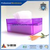 Casella acrilica di vendita superiore del tessuto