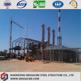 Costruzione pesante diplomata costruzione prefabbricata della struttura d'acciaio dei due piani