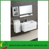 Gabinete de banheiro quente do MDF do estilo de Europa da venda com gabinete do espelho