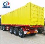 3 Aotong мосты 50t грузовых перевозок Semi Tralier для продажи