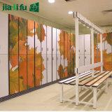 Kast van de Opslag van het Slot van 2 Rij van Jialifu de Heldere Gele Digitale
