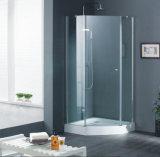 贅沢な浴室304のステンレス鋼のハードウェアのFramelessのシャワー機構