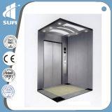 Velocidade de aço inoxidável de gravação do espelho 1,5m/s elevador residencial