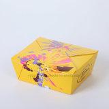 Packpapier-Mittagessen-Kasten des Verpacken- der Lebensmittel