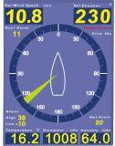 Anemômetro / Direção de velocidade do vento / Medidor de vento / Estação meteorológica