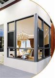Italien 120 Serien-Wärmeisolierung-Flügelfenster-Fenster mit Moskito-Netz