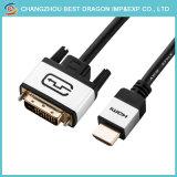 High Definition кабель HDMI - DVI, кабель двухходовой креста подключение дисплея DVI к HDMI