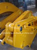 Crescimento & braço longos do alcance do segmento da máquina escavadora dois para Hitachi 21m