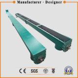 Transportador de tornillo horizontal para transportar el polvo