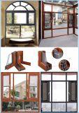 G&C Fuson thermischer Bruch-Aluminiumflügelfenster-Fenster mit Moskito-Netz