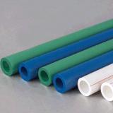 新しく物質的で熱い冷水の供給管PPRのプラスチック配水管