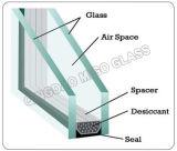 Vidro isolado energy-saving do Baixo-e indicador