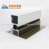 Profil en aluminium pour la porte et le guichet