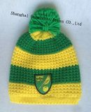 Шлем & шарф нашивки способа 100%Acrylic с сплетенной заплатой для клуба футбола (JYB357)