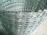 С покрытием из ПВХ плоские предельно провод, материалов предельно колючей проволоки