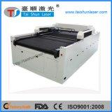 Máquina de gravura de focalização 1600mmx3000mm do laser de matéria têxtil do CCD