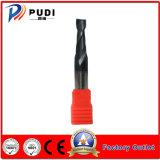 2 flautas nem-HRC50 Ferramenta de corte de carboneto de Sólidos