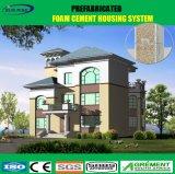 Modulares Luxuxfertighaus/fabrizierte Haus für europäischen Standard vor