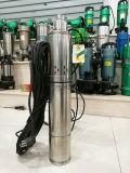Bombas de água submergíveis do parafuso da perfuração do aço inoxidável