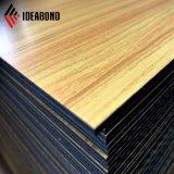 Ideabond Hotsell Utilização interior e exterior Wood Design ACP (AE-306)