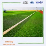 L'erba artificiale di figura di Cw, l'erba falsa, tappeto erboso sintetico, prato inglese artificiale è progettata per il campo di Soccer&Football