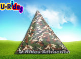 2016 nouveaux camouflage paint paintball bunkers gonflables