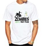 Les Mens blancs court- le T-shirt de coton de chemises (A029)