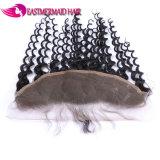 Onda riccia frontale di prezzi di Huamn del merletto indiano poco costoso dei capelli
