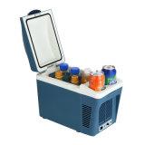전자 소형 냉장고 7liter, DC12V, 차, 사무실, 홈 사용을%s 냉각하고 데우기를 가진 AC100-240V