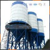 Projeto aparafusado dos silos do armazenamento do cimento do pneumático para o transporte fácil