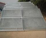 3 V 모양 방호벽 용접된 철망사 담