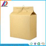 Коробка чая бумаги Brown Kraft упаковывая с прозрачным окном