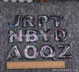 Carta de moda personalizada 3D cordões de cristal de Patch Motif Applique para vestuário