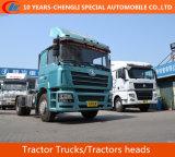 Shacman 4X2 트랙터 트럭, 385HP 트랙터 헤드