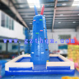 Nouveau style Inflatable Water Rock Climbing Wall / Inflatable Rock Climbing Wall for Kids