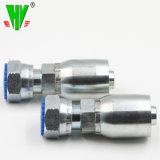 La compétitivité des prix des raccords de tuyau flexible forgé de tuyau flexible hydraulique de Parker raccords standard