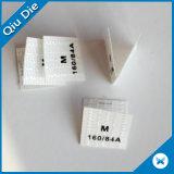Etiqueta impressa não tecida impressa venda por atacado de Stickets para o fato