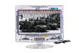 """13.3 """" Duidelijke LCD van het Omhulsel TV met het Digitale Stemmen ATSC"""